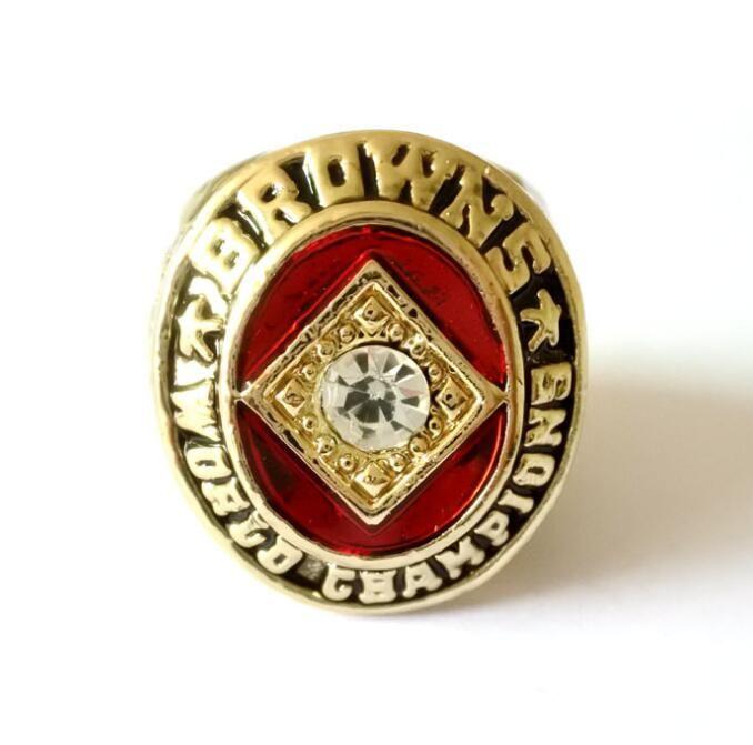Cleveland Browns Fans'Collection 1964 Wolrd Championship Team Champions Anneau souvenir Sport Fan Promotion de gros cadeau