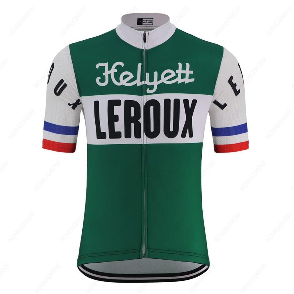클래식 4 스타일의 빈티지 사이클링 저지 남성 여름 팀 녹색 도로 자전거 의류 경주 자전거 의류 셔츠 산악 자전거 저지