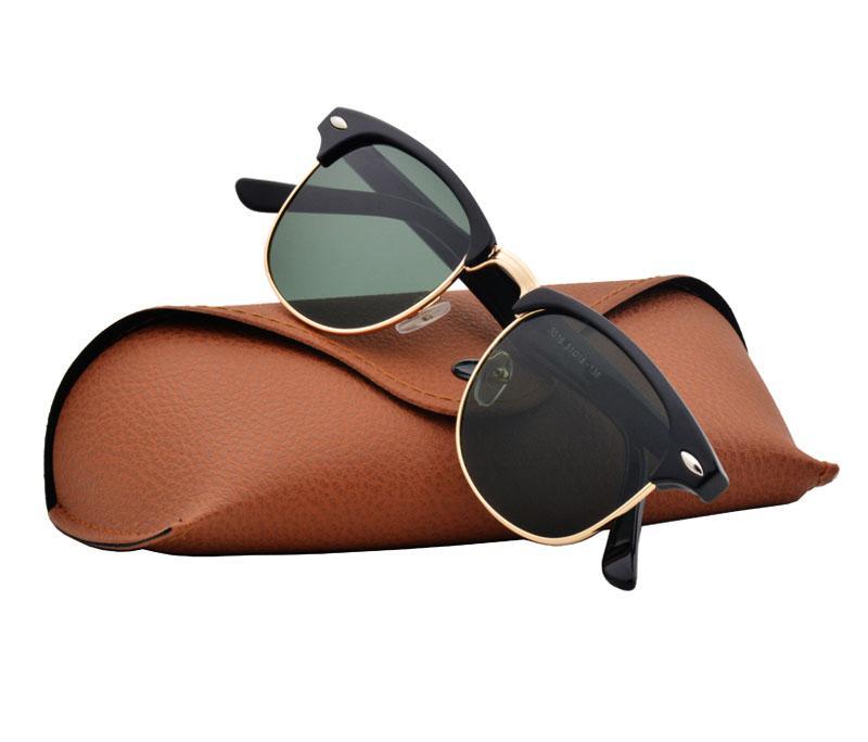 Großhandels-Marken-Entwerfer-Sonnenbrille-Qualitäts-Metallscharnier-Sonnenbrille-Männer Gn Sonnenbrille UV400 Objektiv Unisex mit Koffer und Box