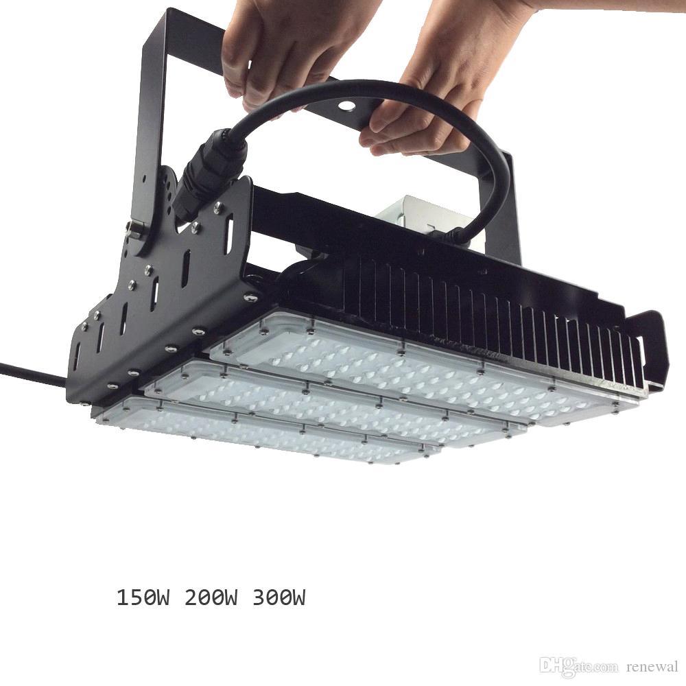 150 Вт, 200 Вт, 300 Вт, светодиодный светильник повышенной освещенности Luxeon SMD 3030 для водителя с монтажным кронштейном Ультраэффективный 130 люмен в ватт