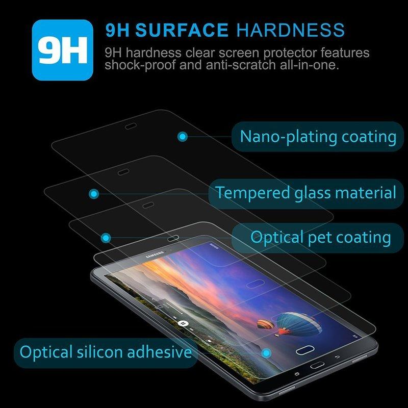 2 Pack Tempered Glass Screen Protector For Google Nexus 7 1st Gen 2012 Tablet