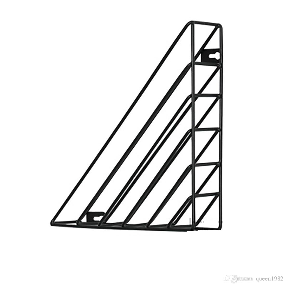 2019 Triangle Wall Mounted Nursery Deco Kids Book Shelves Magazine Racks Metal For Living Room And Bath Room From Queen1982 18 1 Dhgate Com