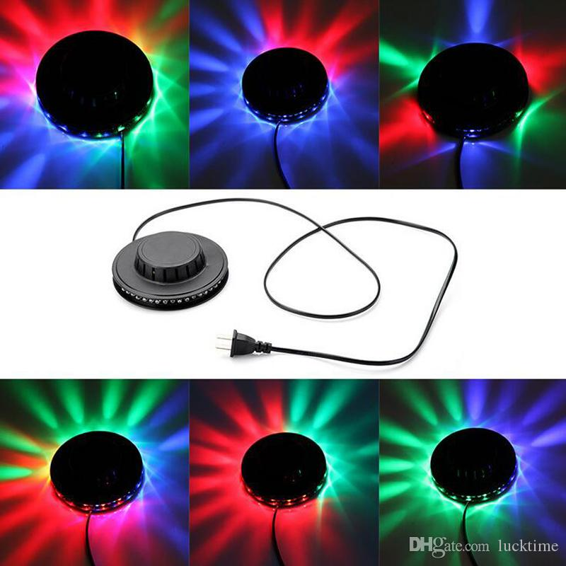 Spectacular Sunflower LED light Disco Spotlight music Laser Stage Lighting Auto sound active stage effects Party Wedding Club lamp home deco