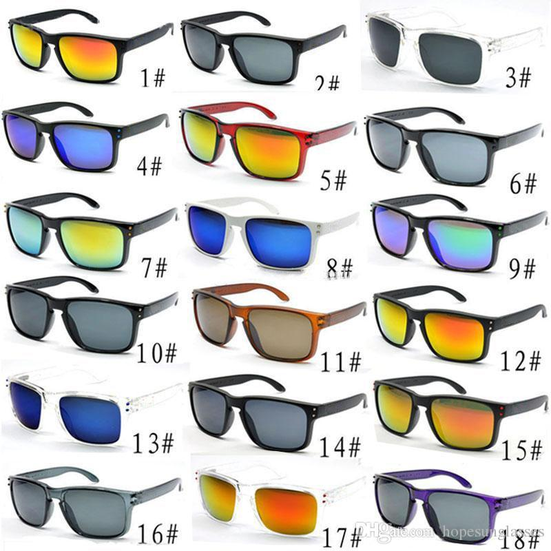 Brand Sports Sunglasses Summer Men and Women Outdoor Glasses Bicycle Riding Sun Glasses 9102 Wholesale 18 Colors Choice UV400