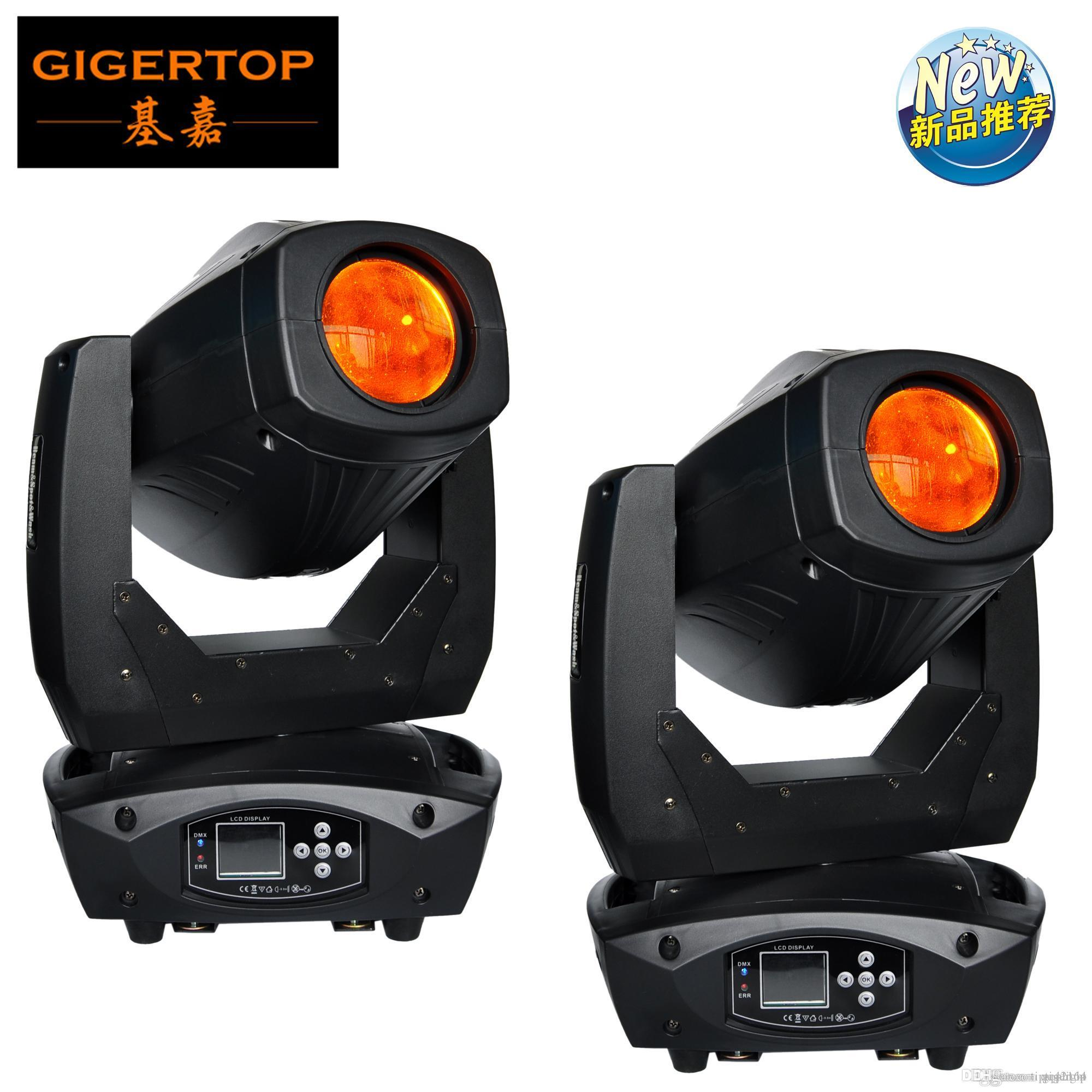 Free Shipping 2XLot LED Moving Head 200W Beam Spot Stage Light with Zoom for DJ and Disco Lighting