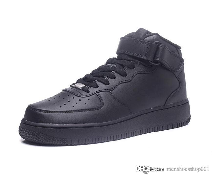 Acquista Nike Air Force 1 One Dunk SUGHERO Uomo Scarpe Casual Da Donna Di Alta Qualità Taglio Basso Tutte Le Scarpe Da Tennis Casuali Di Colore Bianco
