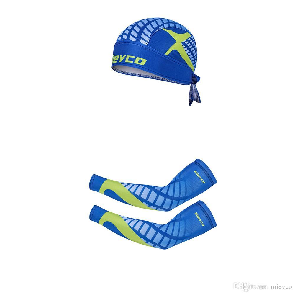 Mieyco رياضة الدراجات النارية الأكمام حماية من الأشعة فوق الذراع تدفئة الدراجات كرة السلة تشغيل الدراجة ركوب الدراجات قبعات الأسلحة الأكمام جاف سريعة