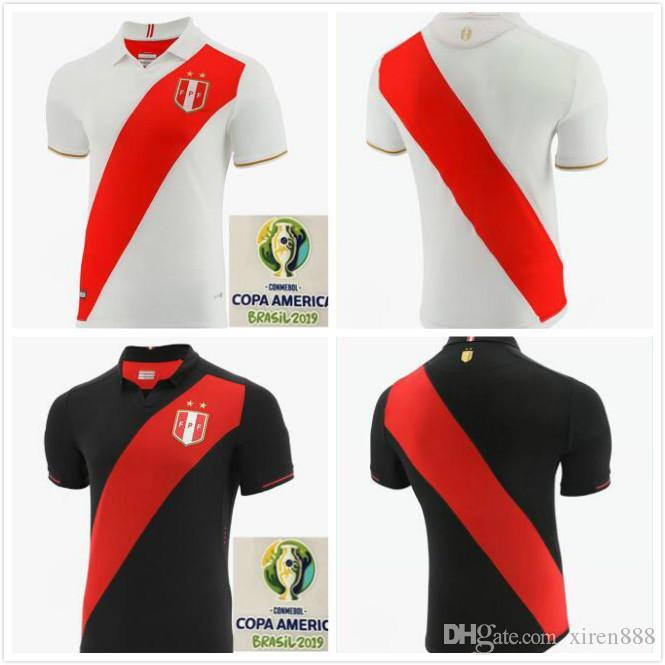 COPA AMERICA PERU camisa de futebol 20 camisa camisa nova qualidade superior 2019 19 Peruana casa longe 2,020 GUERRERO CUEVA FLORES RUIDIAZ FARFAN futebol