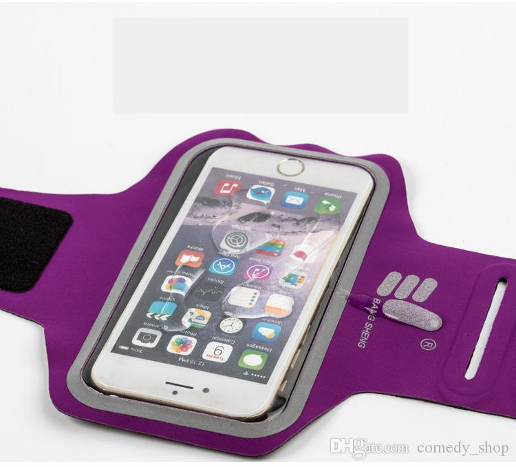 5-5.5 inch Phone Cases Universal Outdoor Sports Phone Holder Sport Armband Arm Band Belt Cover Running GYM Bag Case Cover
