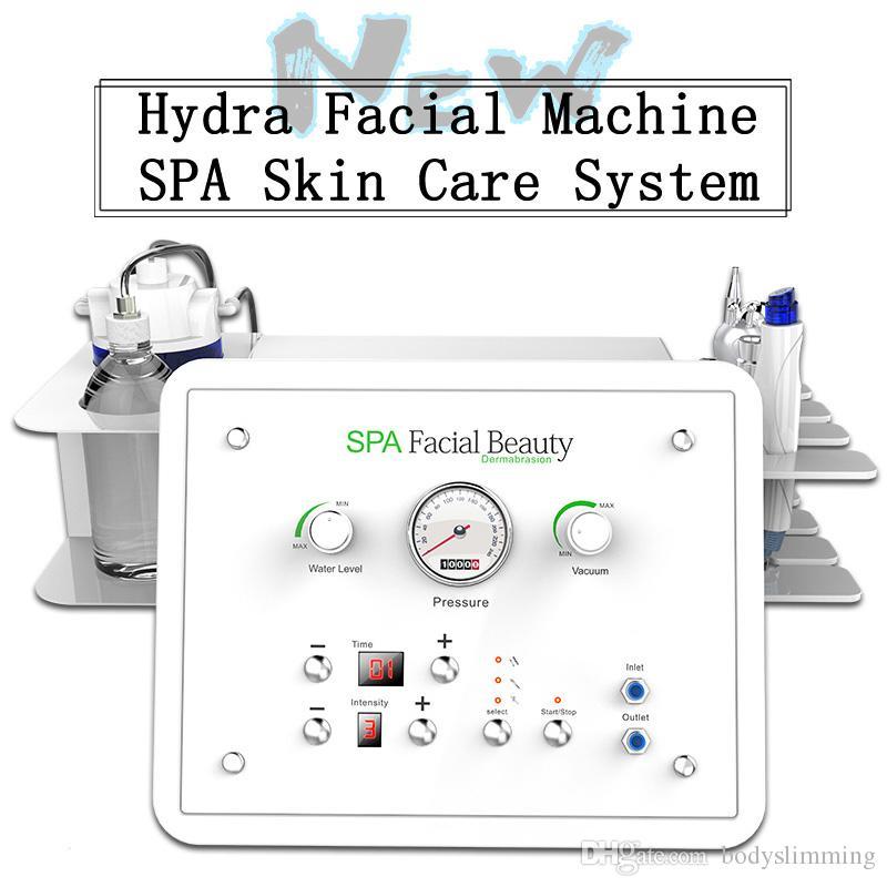 1 Hidro kabuğu makinesi elmas Dermabrazyon Siyah kafa Temizleme Suyu Peeling Yüz rf kaldırma cilt gençleştirme yüz germe makinesinde Yeni 4