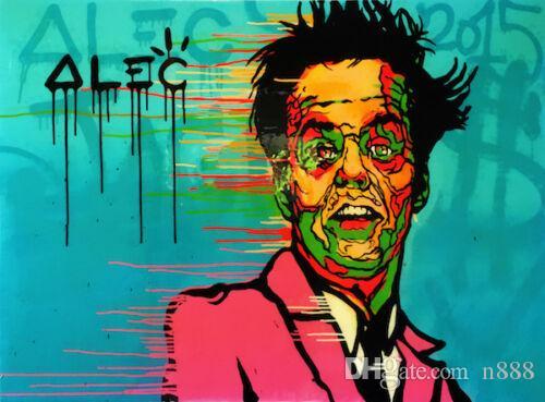 Pintura Alec Monopoly óleo en la lona pintada de la decoración del arte que usted no sabe Jack Decoración pintado a mano de la impresión de HD arte de la pared de la lona representa 191027