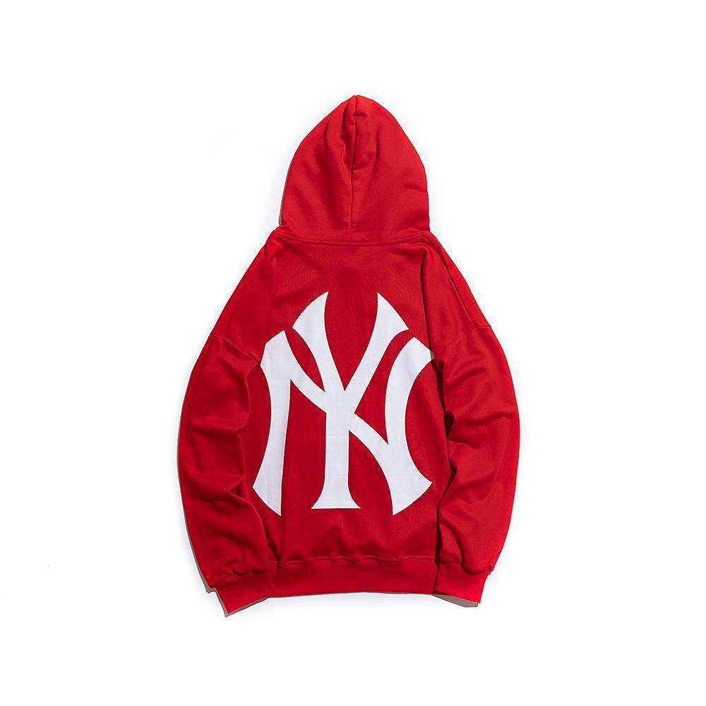 202 / MLB Diseñador Hombres sudadera con capucha de algodón transpirable salvaje camiseta de la nueva venta caliente Marca marea alta calidad con capucha privada personalizada camiseta de Boutique