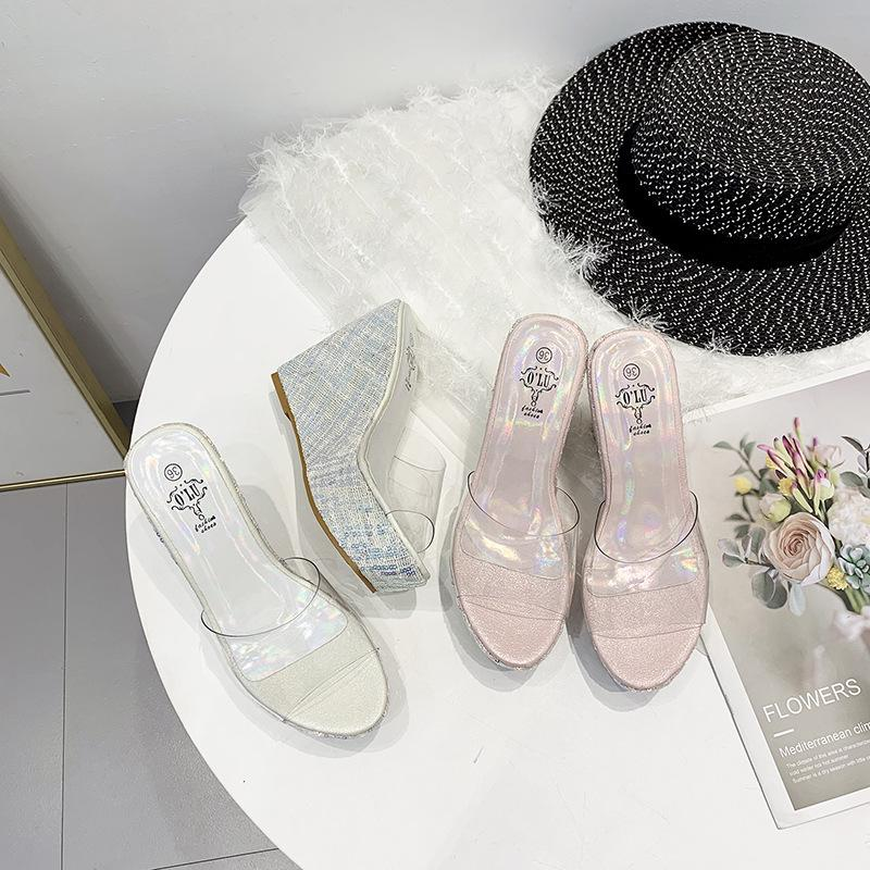 KOREDUO 2018 New Summer Shoes Flat Mules Slippers with
