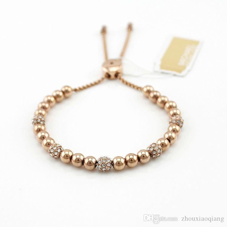 Unisex 18K Yellow Gold Filled Coin Ball Bracelet Opennig Tassel Bangle Jewelry