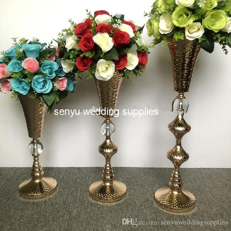 For Wedding Table Flower Stand Centerpieces With Round Candle Holder floral stand senyu0178