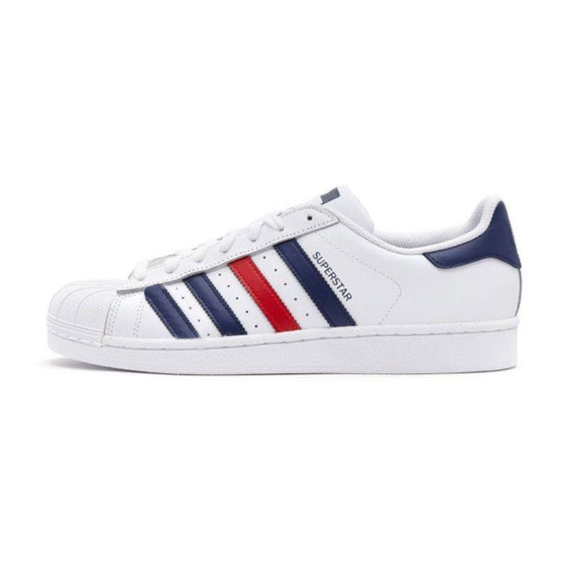 Acheter Adidas Superstar 2020 Nouvelles Chaussures De Sport De Superstars Plate Forme Hommes Femmes Chaussures Triple White Black 80 Designer Pride