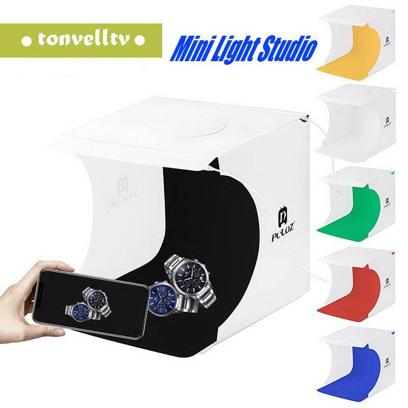 Mini Photo Studio Photography Box Sfondo incorporato Photo Light Box Piccoli articoli fotografia Box Accessori Studio