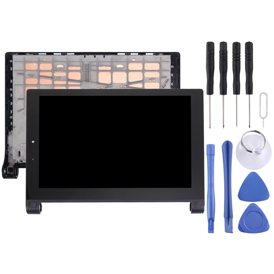 LCD Screen and Digitizer Full Assembly with Frame for 10.1 inch Lenovo YOGA Tablet 2 1051