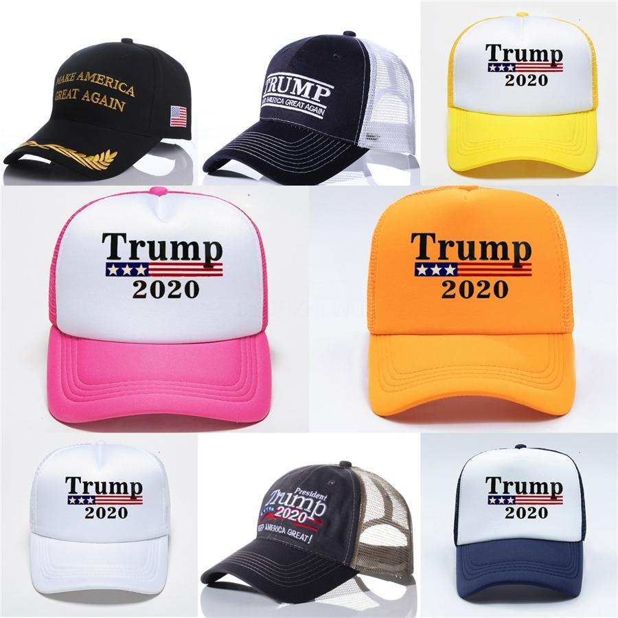 Fedex gratuito Faça América Great Again Hat Donald Trump chapéus de basebol republicano ajustável camionista Snapback exterior Desporto Caps B595 # 114