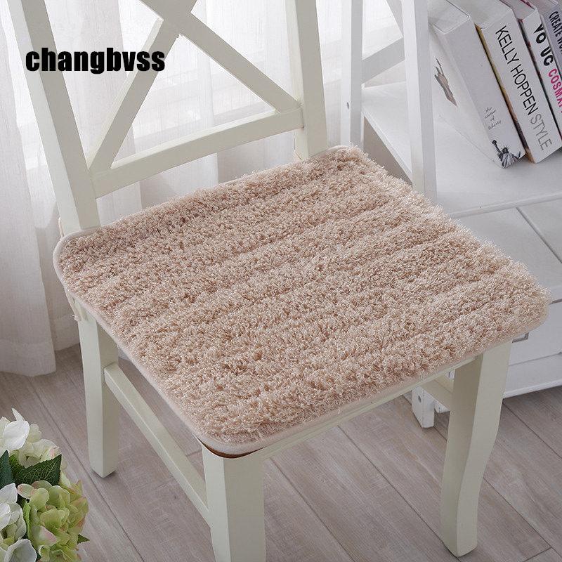 Lovely Plush Chair Cushion Back Mat,Hotsale Seat Cushions Kitchen  Chairs,Soft Dining Chair Cushions Mat,Almofada Decorativa Car Seat Riser  Cushion Car ...