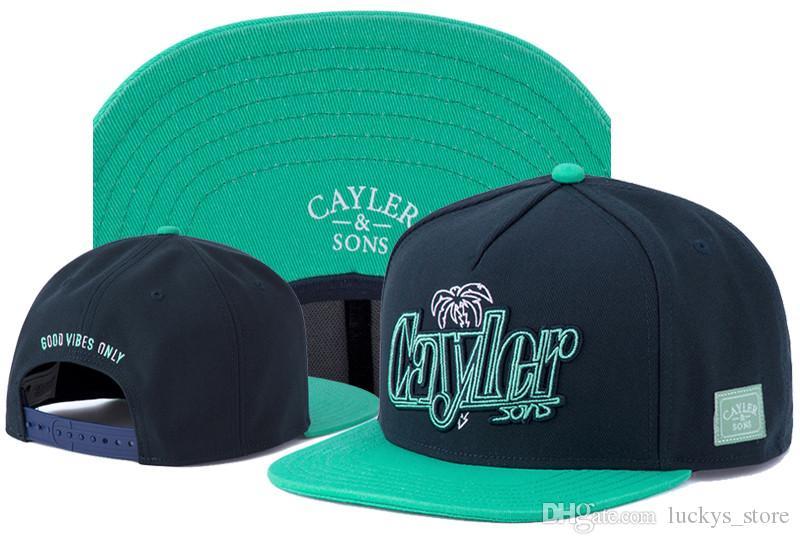 Cayler Sons snapback hip hop cap CSBL osso BROOKLYN buone vibrazioni SOLO MERCY figli nuovo design Cayler berretti da baseball registrabili cappelli