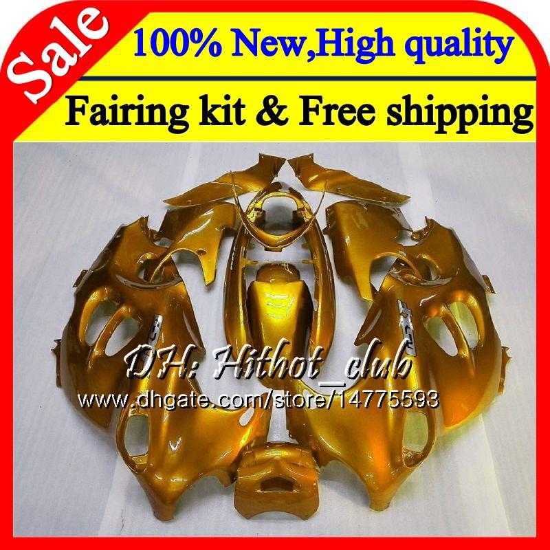 Body Glossy golden For SUZUKI KATANA GSXF 600 750 GSXF750 03 04 05 06 07 22HT2 GSX600F GSXF600 2003 2004 2005 2006 2007 Fairing Bodywork