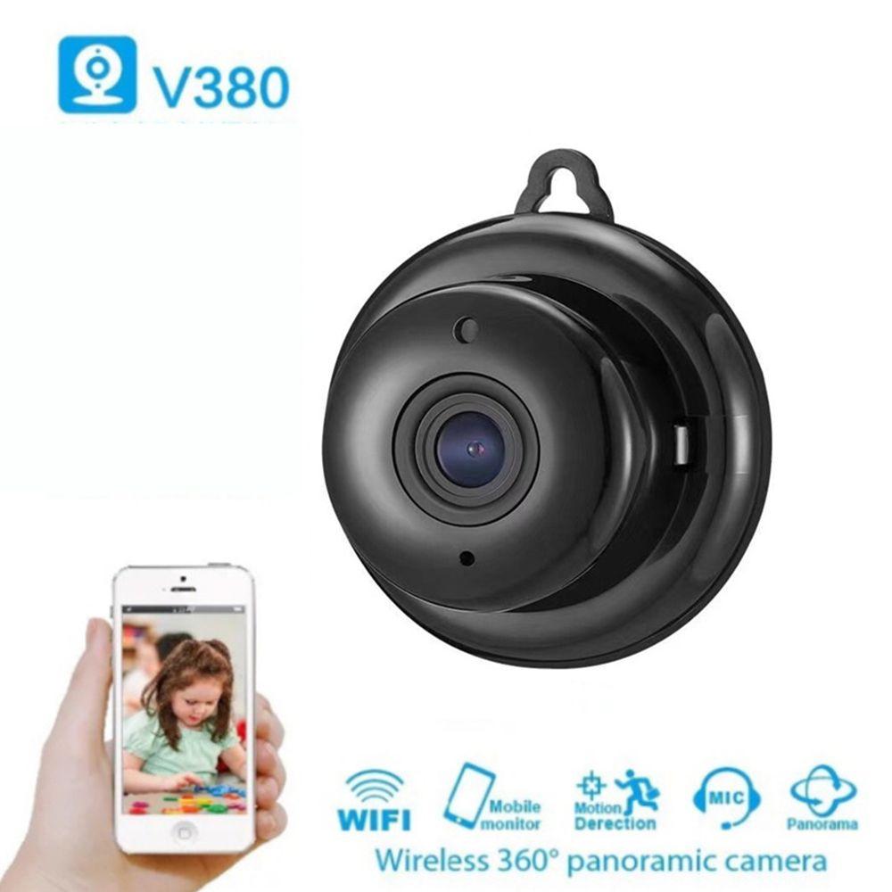 V380 Wireless Mini IP Camera HD IR Infrared Night Vision Micro Camera Home Security WiFi Baby Monitor Camera