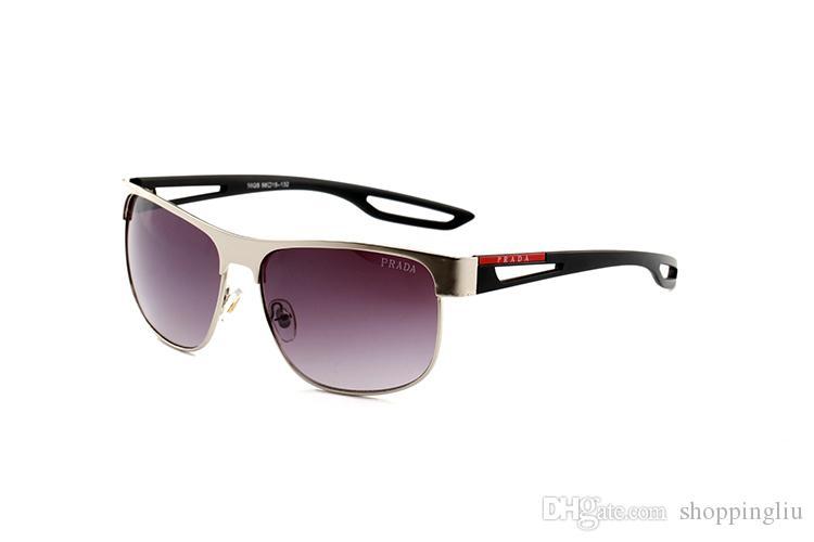 2019 Designer di occhiali da sole UV400 sport occhiali da sole vintage occhiali da sole di marca firmati occhiali da sole con cerniera in metallo di alta qualità