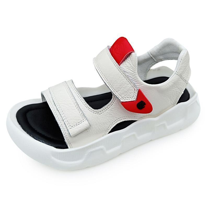 детские сандалии 2019 корейские мальчики мягкое дно повседневные квартиры дизайнерские сандалии дети нескользящие девушки повседневная пляжная обувь удобная 26-359d90#