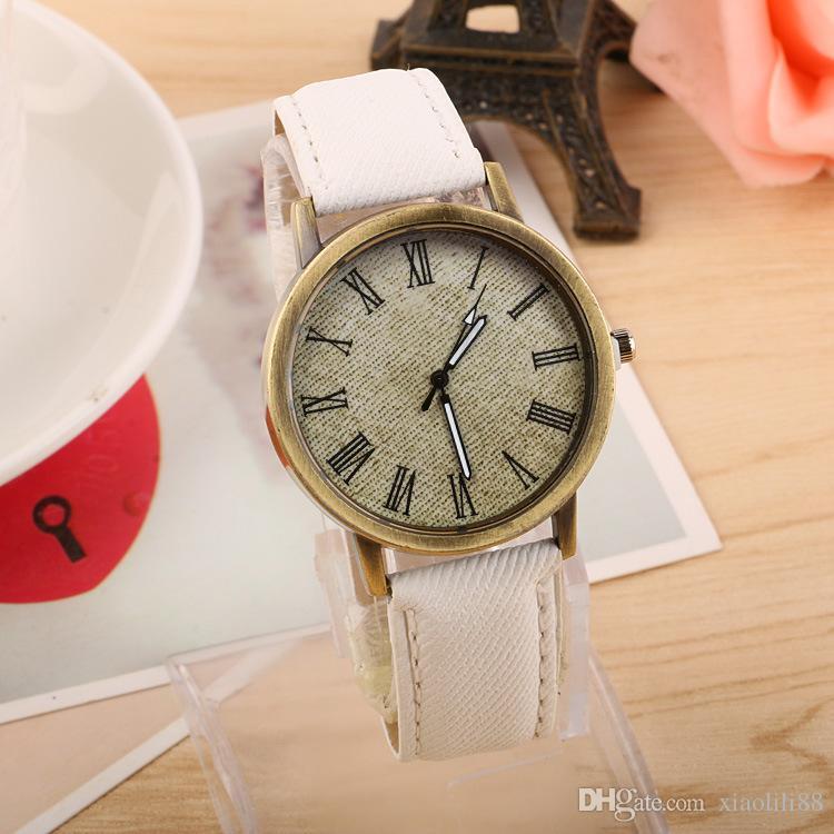 2020 Trendy Fashion Creative Denim Belt Punk Watch Canvas Universal Adult Watch Fashion Quartz Watch a1
