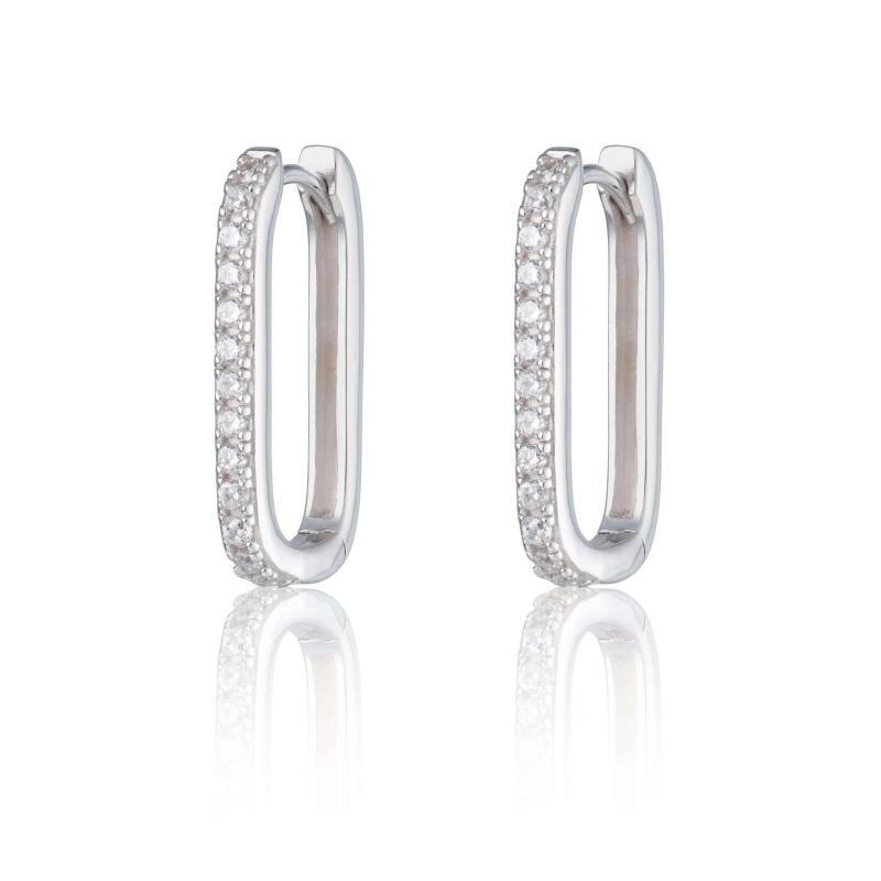 fino mínimo 925 prata esterlina jóias 2.020 novos pino de segurança chegou mulheres menina hoop geométrica brinco de prata