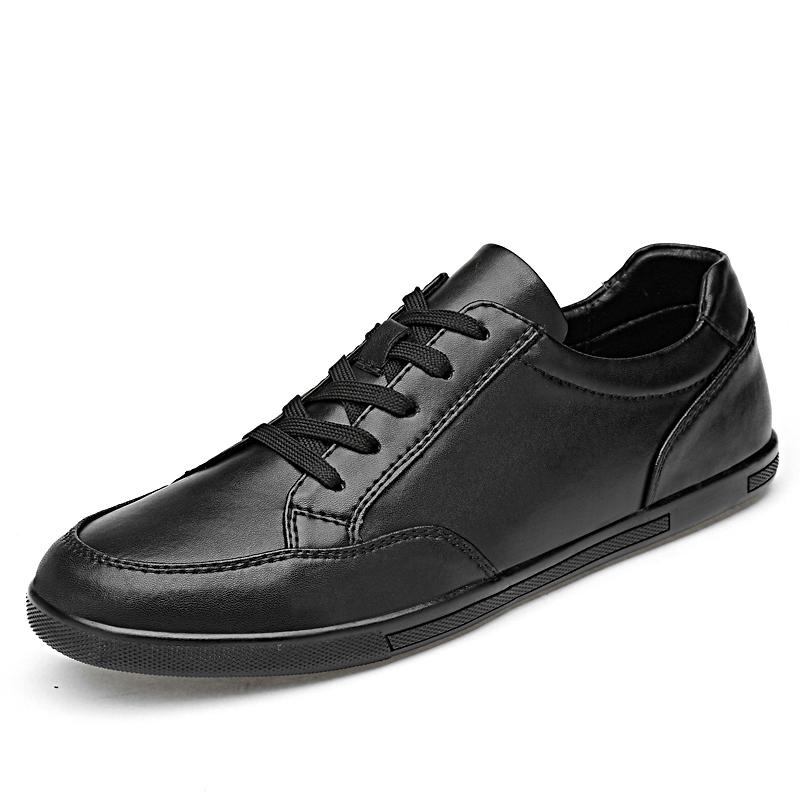 Hommes Oxford Fashion Angleterre Tendance Casual Chaussures Outdoor Robe en cuir pour homme Flats Hommes imperméables Chaussures Taille Plus 45%
