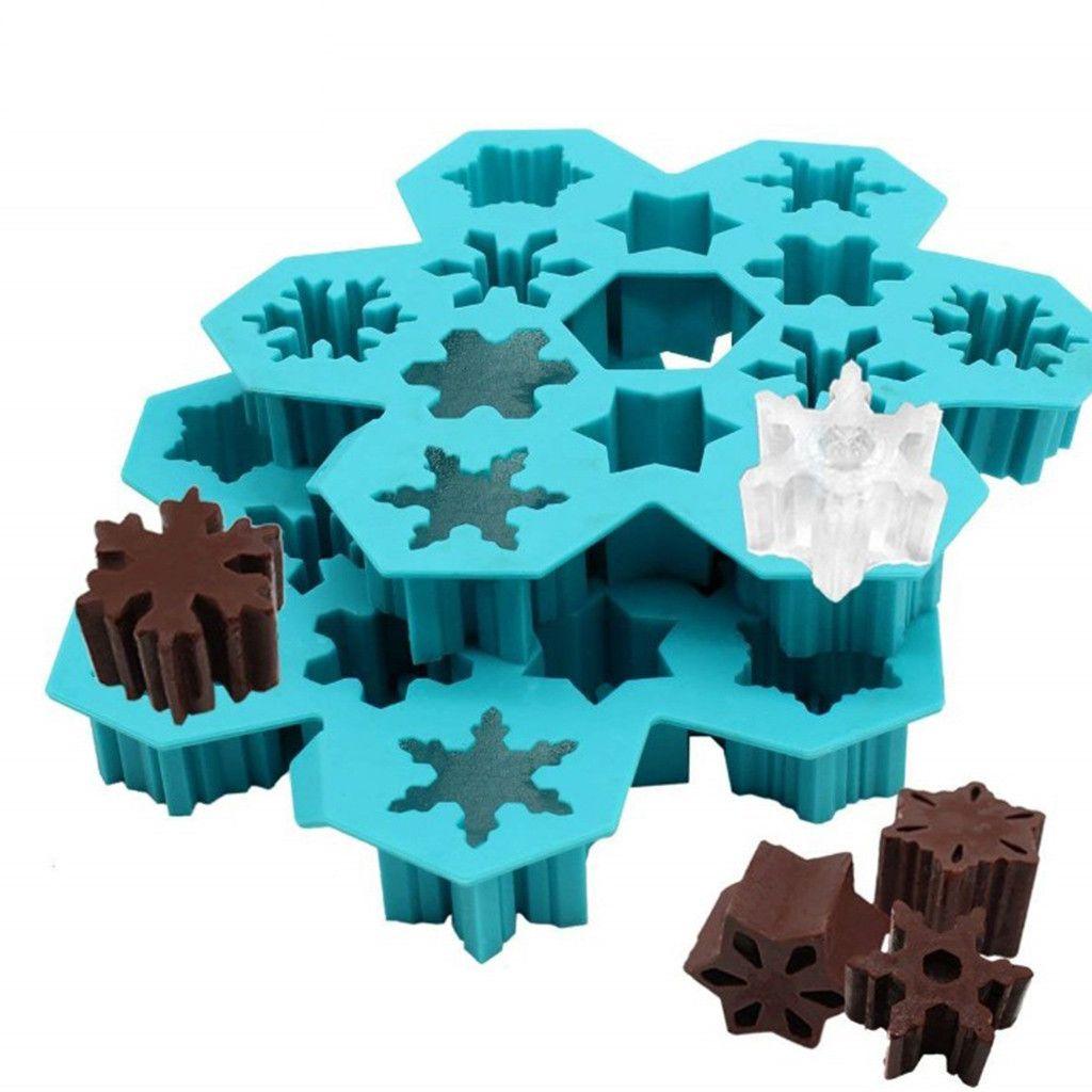 Parti Ice Cube Çikolata Kalıp Yaratıcı Ev Kek Çikolata Silikon Kalıp fondan kek silikon kalıplar 30. standı