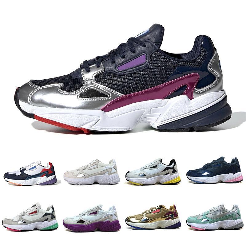 Compre Adidas 2019 Falcon W Dad Shoes Para Mujeres Hombres Zapatillas  Deportivas De Diseño De Alta Calidad Originales Para Correr Al Aire Libre  36 45 ...