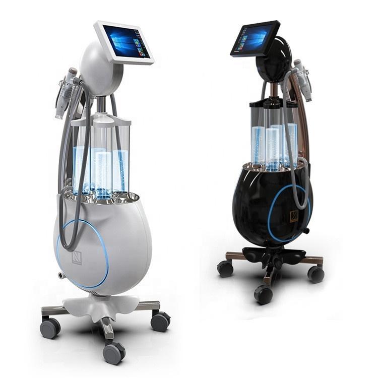 الهيدروجين آلة الوجه هيدرا آلة جلدي لتنظيف عميق