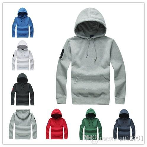 Free shipping new mens designer polo hoodie High quality men's luxury Sweatshirts Outwear Hoodies men's Letters wholesale pullover clothes