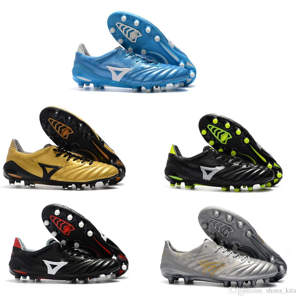 2020 Mens Leather Soccer Cleats Low