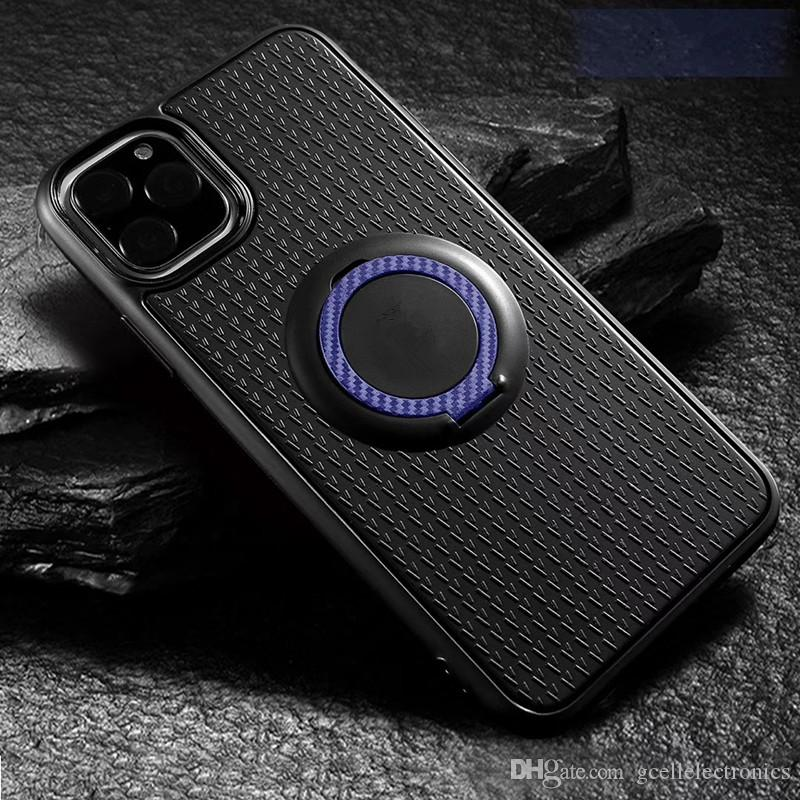 TPU Magnetic Ring Holder Phone Cases For Samsung Galaxy S21 Plus A02 A32 A52 A72 Iphone 12 Pro Max Case Redmi Note 9