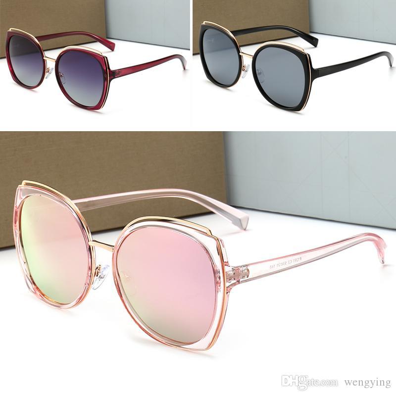 1281 El nuevo diseñador de moda las gafas de sol gafas de marco de enmascaramiento desprendible ornamentales gafas verano UV400 lentes de protección exterior que de primera