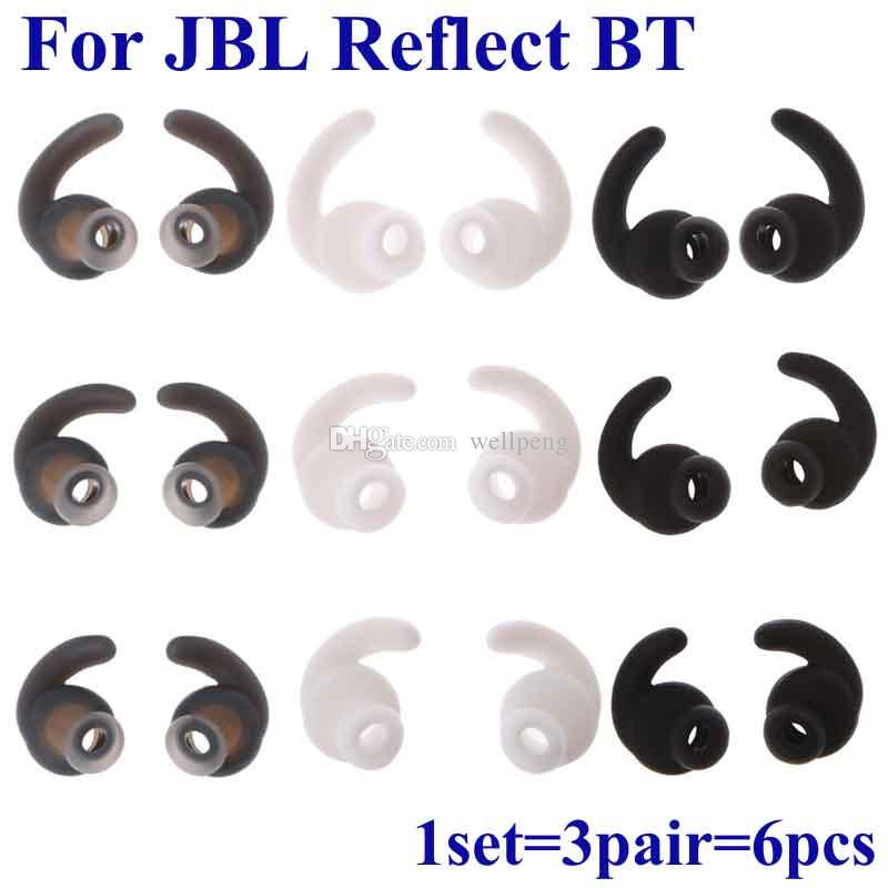 Для Сельсинов в JBL отражают мини-BT Bluetooth-гарнитура в-ухо силиконовые кончиках ушей наушники замена гелевых ушных вкладышей с креплением-крючком ухо бутоны советы гели