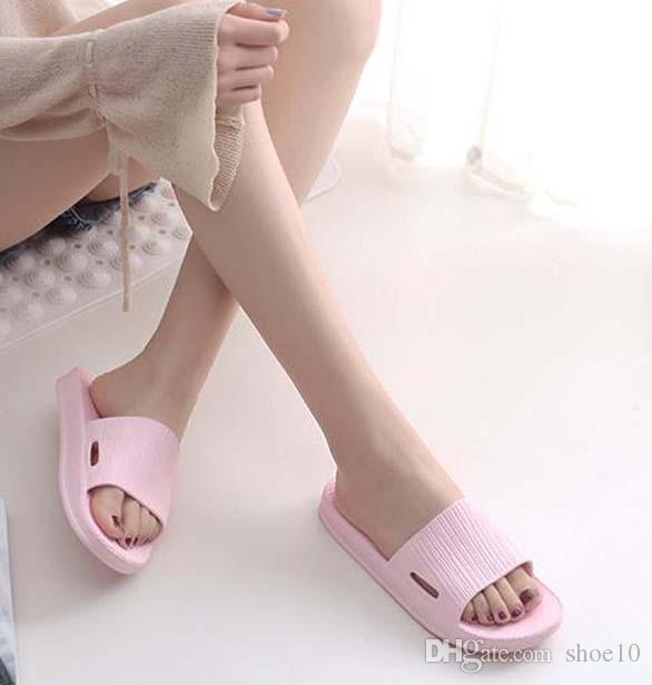 nuevos zapatos de las mujeres sandalias de la mejor calidad tacones altos deslizadores de las sandalias huaraches flip flop de zapatos de los holgazanes Para zapatilla de p39 shoe10