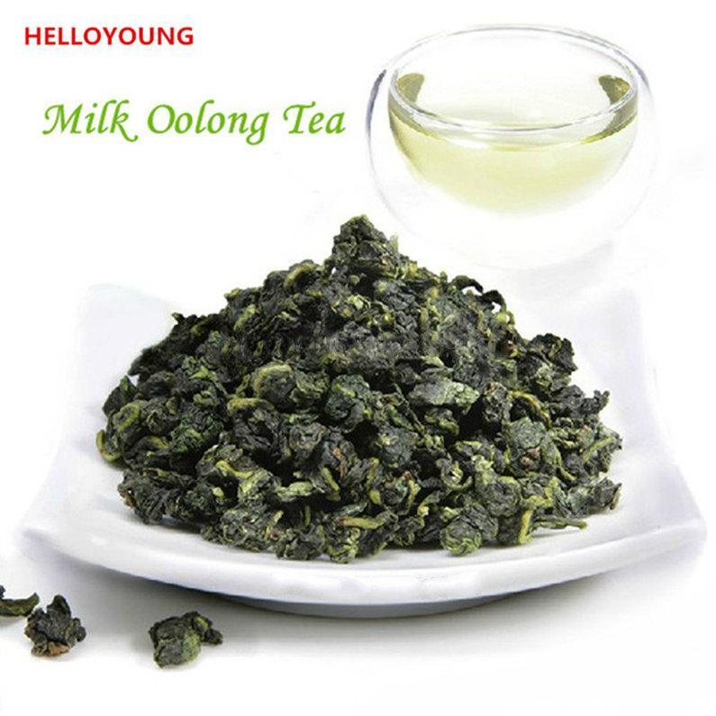 250g Çin Organik Oolong Çay Süt Oolong Yeşil Çay Yüksek Grade Yeni Bahar Çay Yeşil Gıda Sıcak satış Seçme