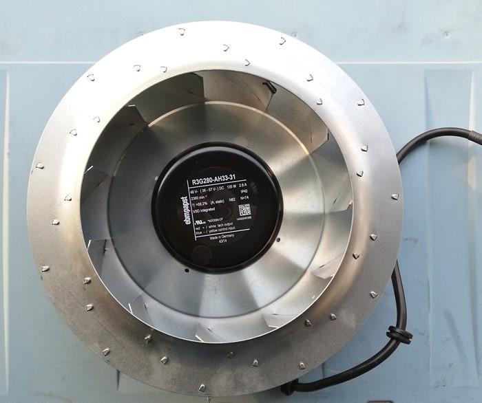 تعمل بنسبة 100٪ الأصلي لR3G280-AH33-31 48V 135W EBM ABB 700S / H
