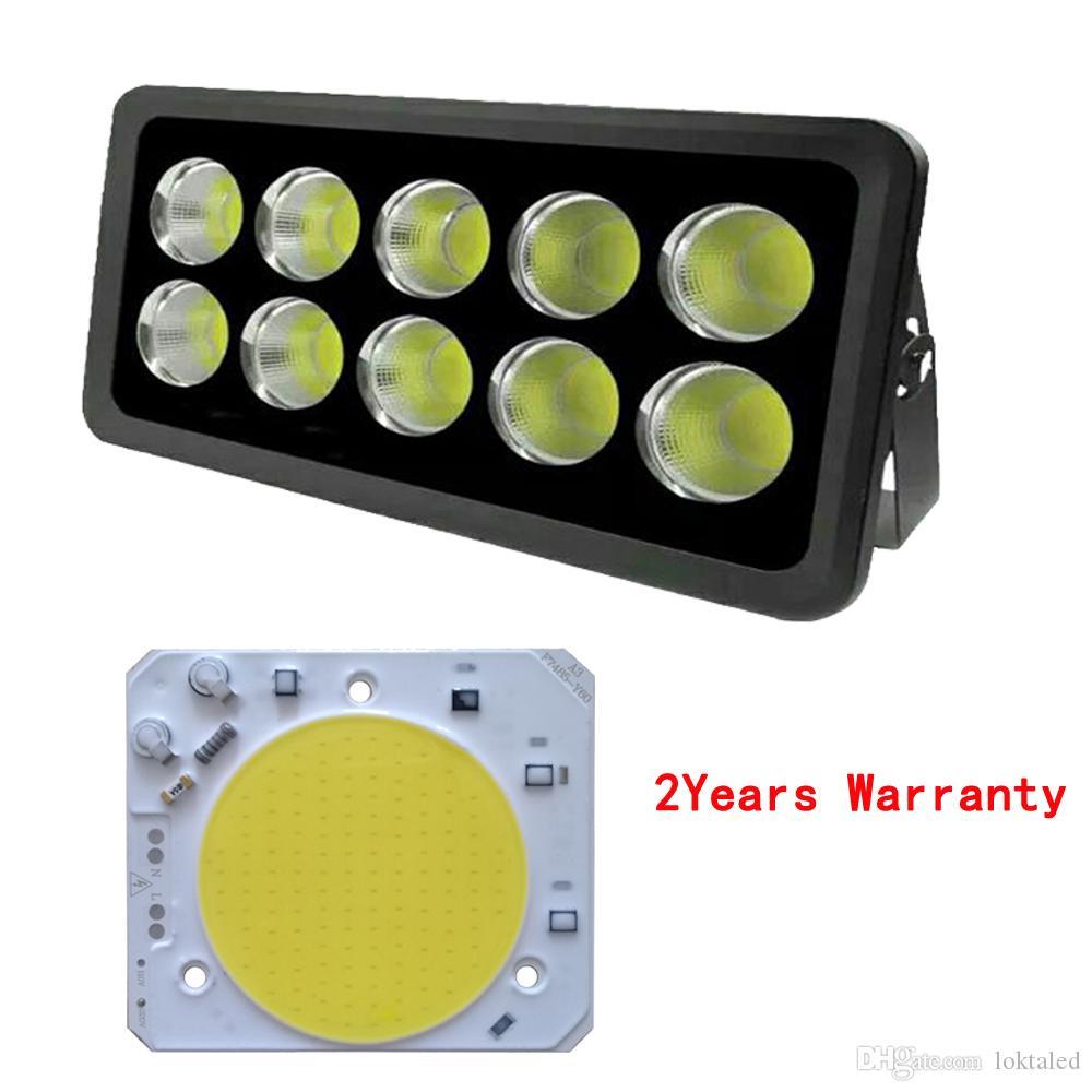 5PCS / LOT هايت PUISSANCE LED COB CHIP 30W 40W 50W AC220V حبات الضوء الذكية جيم حملة لتسليط الضوء مصباح ديي
