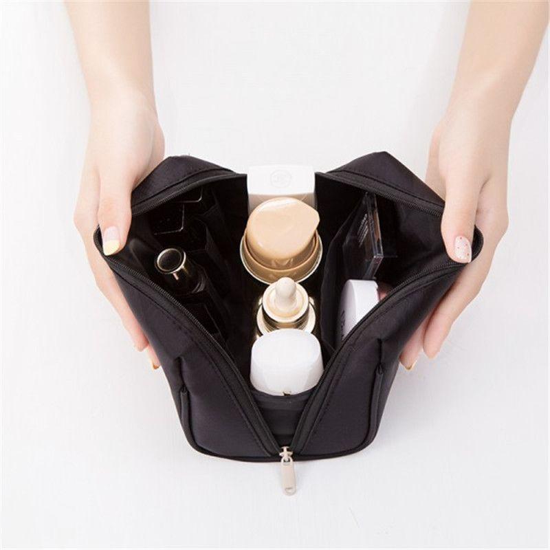 Hand Make Up Women Case Travel Bag Girls Cosmetic Makeup Toiletry Organizer Kits Storage Organizer Portable Ladies Bag Tslkc