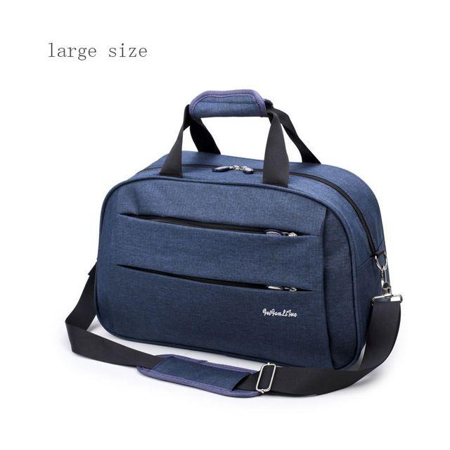 sacs de voyage de bagage hommes toile imperméable femmes gros sac sur l'épaule de l'homme roues Duffel Sac de transport bleu gris noir sur les bagages de cabine K290g