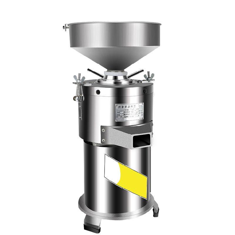 La mantequilla de alta calidad eléctrica de sésamo maní Máquina de piedra de molienda de acero inoxidable comercial de mantequilla de maní Fabricante de 30 kg / h