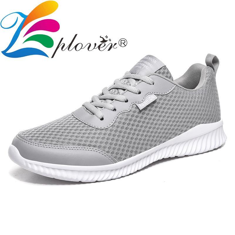 2020 der neuen Männer beiläufige Schuh-Mesh-Turnschuh-Männer Breathable Schuhe für Mann-Licht Lace Up Gehen Sommer Tenis Masculino