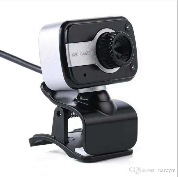 V3 480P Laptop PC USB Clip WebCam Web Camera 360 degrees rotary function Built-in microphone