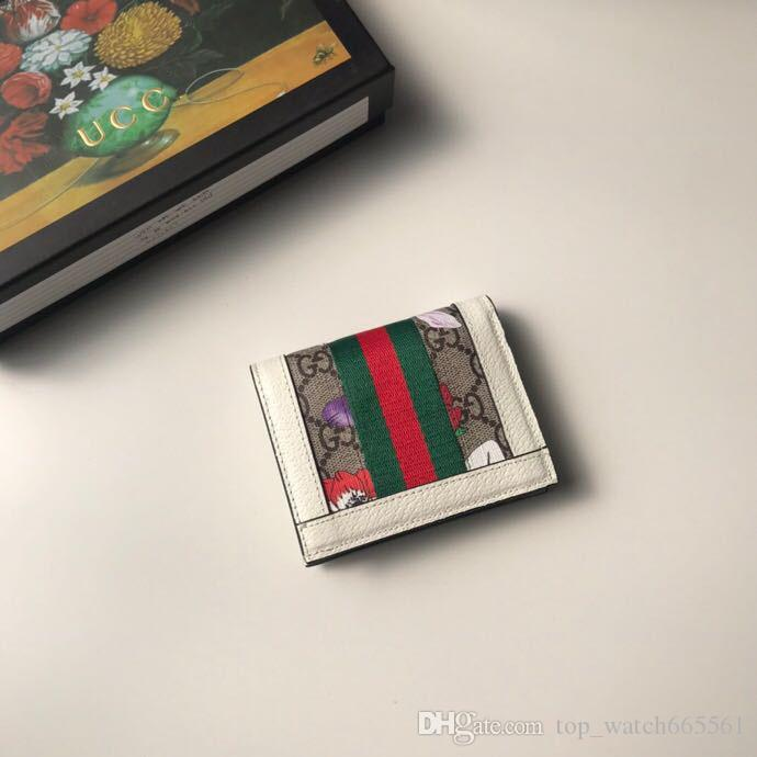Les nouvelles femmes bouton design portefeuilles à court mode zéro femmes bourse de style européen dame clutchs occasionnels avec boîte